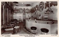 RMS EMPRESS OF BRITAIN  - Canadian Pacific Liner, Knickerbocker Bar - RP