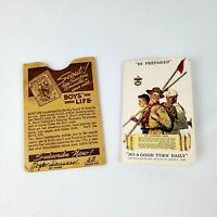 Boy Scouts Of America Certificate Of Registration Card Troop 53 Walnut IL 1940