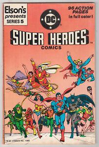 Elson's DC Super Heroes #5, RAMONA FRADON, JOSE GARCIA LOPEZ, 96 pgs, 1981 VG  r