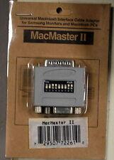 MacMaster II Video Converter Macintosh to VGA New in Package i