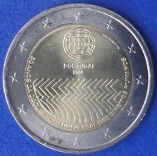 """PORTUGAL -  2 EUROS Gedenkmünzen 2008  """" Menschenrechte / Human Rights """""""