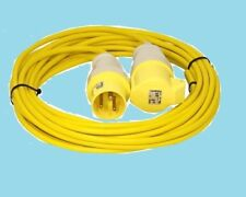 10M 110V 16AMP EXTENSION LEAD   PLUG AND SOCKET 1.5MM ARCTIC CABLE SITE/HOOK  UP