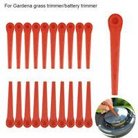 200x Kunststoffmesser Ersatzmesser für Gardena Rasentrimmer EasyCut Li-18/23R