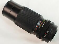 Fuji adapted 80-200mm f/4.5 zoom lens for FX Fuji X X-T3 X-Pro2 X-A2 cameras