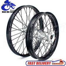 21 19  Wheel Set Rims Hubs Spokes Suzuki RMZ250 07-14 RMZ450 05-14 RMZ 250 450