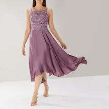 Coast - Janie Lace Midi Dress - Mist (Purple) - Size 14 (Brand New With Tag)