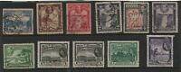 BRITISH GUIANA STAMP SELECTION (11) 1931 to 1954.