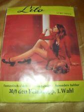 Vintage Lilo Strapsstrümpfe Feinstrümpfe Gr. III DIAMANT Stockings Bas OVP