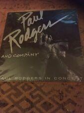 PAUL RODGERS & Company mit Autogramm/ Laserdisc in Folie, wie neu, Extrem Rar!