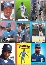 BO JACKSON (27) CARD  ODDBALL HARD TO FIND CARDS, NO DUPS  FREE COMBINED S/H