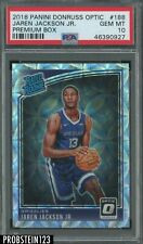 2018 Donruss Optic Premium Box Jaren Jackson Jr. Grizzlies RC Rookie /249 PSA 10