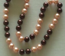 """10MM Multicolor #8 AAA South Sea Shell Pearl Necklace 18"""" NEW (with gift bag)"""