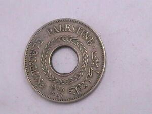 PALESTINE 5 Mils Coin 1946