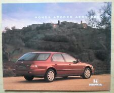 HONDA ACCORD AERODECK orig 1994 UK Mkt Large Format Sales Brochure