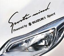 Sports Mind Powered by Suzuki sport Aufkleber Sticker