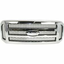 New Chrome Grille For 2005-2007 Ford F-250 Super Duty FO1200456 SHIPS TODAY