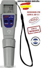 Medidor Digital PH Temperatura ADWA AD11 Impermeable Grow Piscina Acuario AD 11