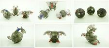 Bakugan Translucent Darkus Hydranoid Evolution Masquerade Set Ltd Edition RARE.