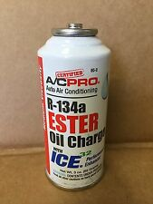 Genuine A/C PRO Auto Air Conditioning R-134a Ester Oil Charge W/ICE32 USA SHIP