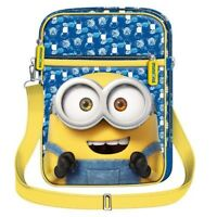 Minions Bolsa Porta Tableta Bag 25x18x5cm Universal Original Studio Nuevo _ Man