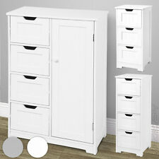 Cabinet Organizer Unit 4 Drawers Cupboard Storage Bathroom Bedroom Furniture