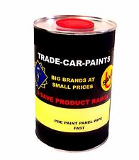CAR PAINT TRADE PRE PAINT PANEL WIPE WAX & GREASE REMOVER 1lt