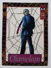 "Spider-Man Suspended Animation Karte "" Chameleon "" Marvel Trading Cards"
