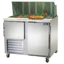 Leader Lm36, 36x32x45-Inch Refrigerated Sandwich Unit, 12.2 Cu. Ft, 1 1/2 Door,