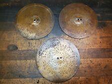 """3 Antique Symphonion 7 5/8"""" Music Box Discs #7043, #7034, #7012 Home Sweet"""