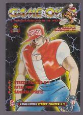 magazine manga GAMEOVER videogiochi a fumetti street fighter ii v n.10 1997