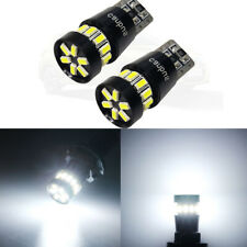 2PCS T10 W5W Canbus Car Led Light 3014 18SMD No Error Auto Wedge Clearance Lamp