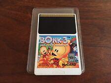 Bonk 3: Bonk's Big Adventure for TurboGrafx-16 Cart Only duo express US VERSION