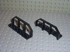 2 x LEGO Black WAGON END 6583 / set 4565 7237 4535 8632 10133 4534 4559 10015