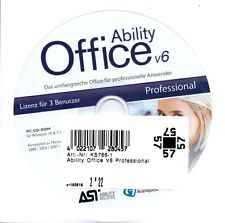 Ability Office V6 Professional 3 PC Lizenz