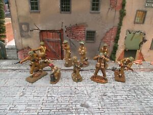 airfix britains deetail weston 1/32 british infantry and paratroopers painted