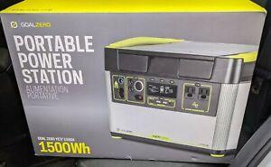Goal Zero Yeti 1500X Portable Power Station Emergency Backup