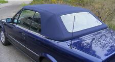 BMW E30 CABRIO CAPOTE E 30 CABRIOLET ALPAGA BLEU NEUVE