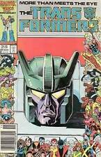 TRANSFORMERS #22 VERY FINE MARVEL COMICS (1st SERIES 1984) 1st STUNTICONS