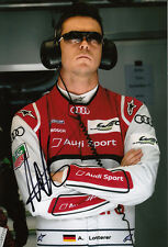 Andre Lotterer Hand Signed 2013 Audi Sport Team Joest 12x8 Photo Le Mans 5.
