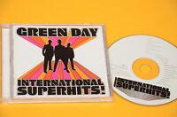 CD (NO LP ) GREEN DAY INTERNATIONAL SUPERHITS ORIG CON LIBRETTO COME NUOVO EX
