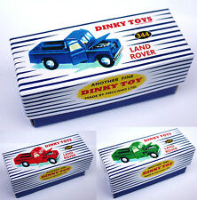 DINKY Reproduction Box 344 Land Rover - Choice Of Colours