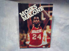 1983 MOSES MALONE Hardcover Houston Rockets 76er creative education larry libman