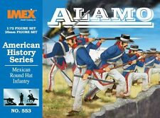 IMEX 553 Mexican Round Hat Infantry 1/72 Plastic Scale Model Kit