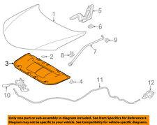 TOYOTA OEM 13-16 RAV4 Hood-Insulation Pad Liner Heat Shield 533410R030