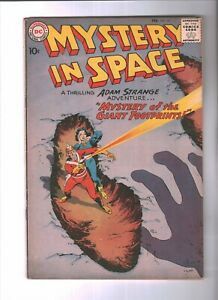 Mystery in Space #57 (Adam Strange) Silver Age-DC Comics FN   {Generations}