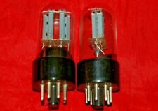 6n8s matched pair  6SN7 1578 nevz tubes  made in USSR in 70's