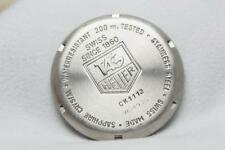 Genuine Tag Heuer Stainless Steel Caseback Reference CK1112  Series 2000 Chrono