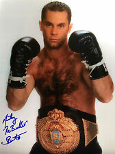 """Anthony """"The Bullet"""" Bonsante autographed 8x10 photo with COA"""