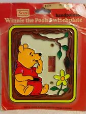 Winnie the Pooh Vintage Sears Light Switch Cover Plate - original packaging