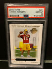 2005 Topps #431 Aaron Rodgers RC Rookie Card Green Bay Packers PSA 10 Gem Mint